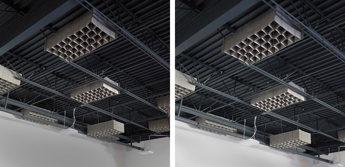 PKSA Karate Ceiling with HUSH by Quell Acoustics